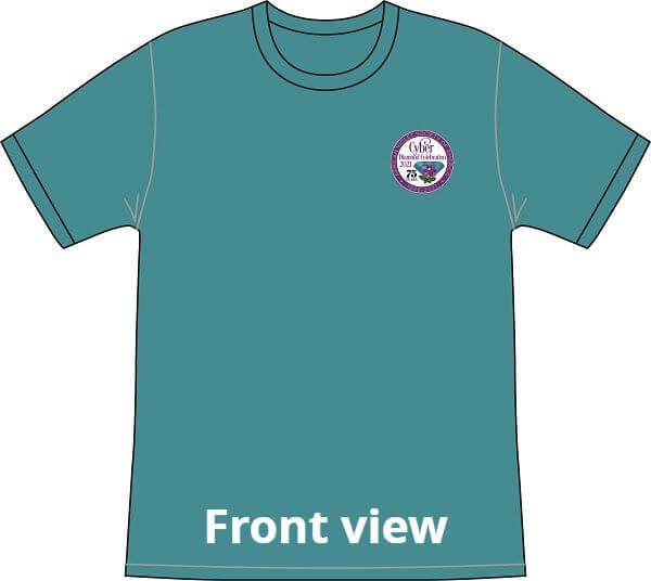 2021 AVSA t shirt front view
